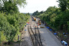 16 August 2015 :: A view of the engineering works taking place at Bathampton Junction