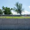 JOED VIERA/STAFF PHOTOGRAPHER-Olcott, NY-The recently fixed wall at Olcott Beach.