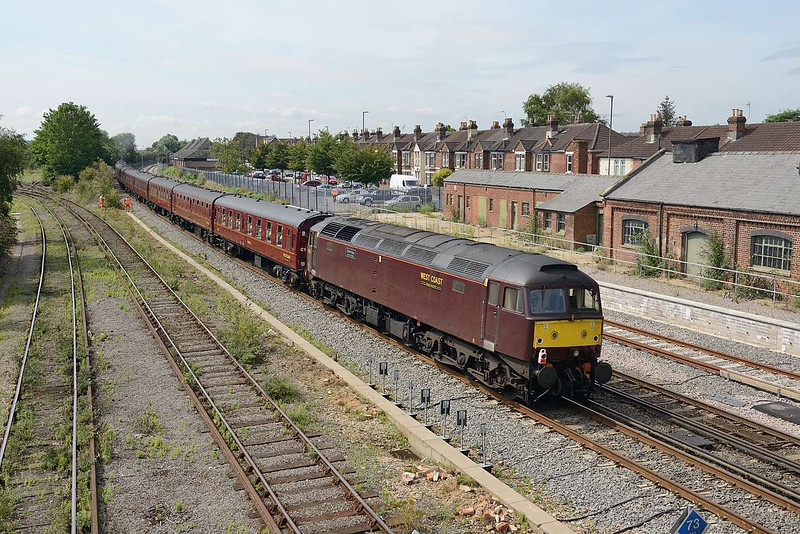 12 August 2015 :: On the rear of 1Z67 from Victoria to Weymouth is 47746