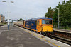 25 August 2015 :: 73136 is pictured at Basingstoke heading 5Z70 from Eastleigh to Victoria