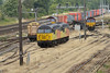 4 August 2015 :: Stabled in the yard at Eastleigh are 56105 & 56087