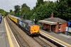 11 August 2015 :: 37604 is pictured at Saunderton heading Network Rail test train 1Q16 from Derby to Marylebone and return to Derby