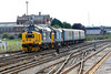 22 August 2015 :: After being serviced at Eastleigh, 37401 / 37405 lead 5Z39 back to Bournemouth and are seen departing from Eastleigh works