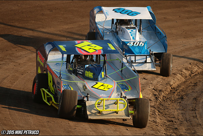 August 25, 2015 - Lebanon Valley - Sportsman - Mike Petrucci