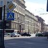 Start of Nevsky Prospekt, the main drag in St. Petersburg