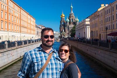 August 17- St. Petersburg