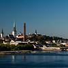 Arriving in Tallinn