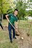 16206 Jim Hannah, Japanese Cherry Tree Planting Garden of the Senses 8-25-15