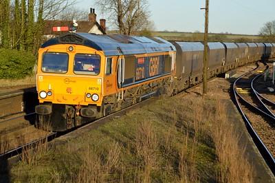 66710 'Phil Packer BRIT' 1414/6B33 Immingham-West Burton PS
