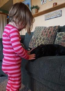 "Zoe helps Poppy ""go to sleep"""