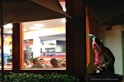 Chainsaw Wielding Clown Terrorizes Restaurant Goers at Halloween Horror Nights 25