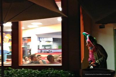Chainsaw Wielding Clown Terrorizes Restaurant Goers at Halloween Horror Nights 25