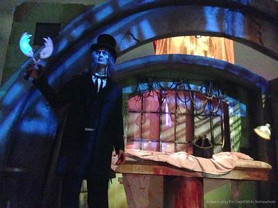 The Caretaker Returns for Halloween Horror Nights 25 at Universal Orlando