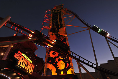 Image of Hollywood Rip, Ride Rockit from the Universal Orlando Blog