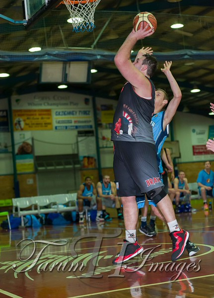 © Braves (70) v Tamworth Thunderbolts (75) 4 July 2015-7582