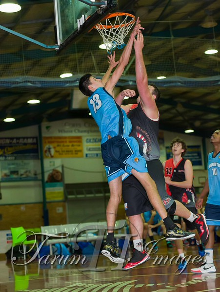 © Braves (70) v Tamworth Thunderbolts (75) 4 July 2015-7480