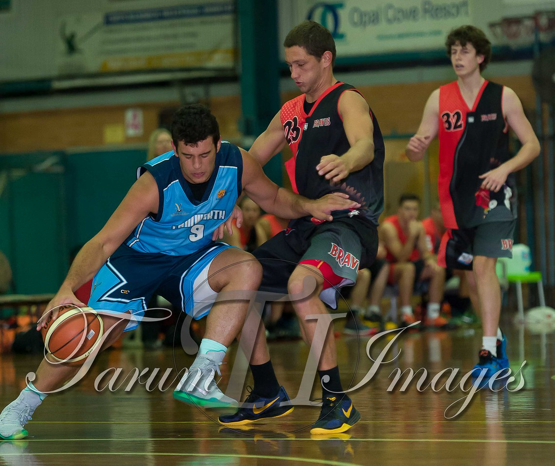 © Braves (70) v Tamworth Thunderbolts (75) 4 July 2015-7462