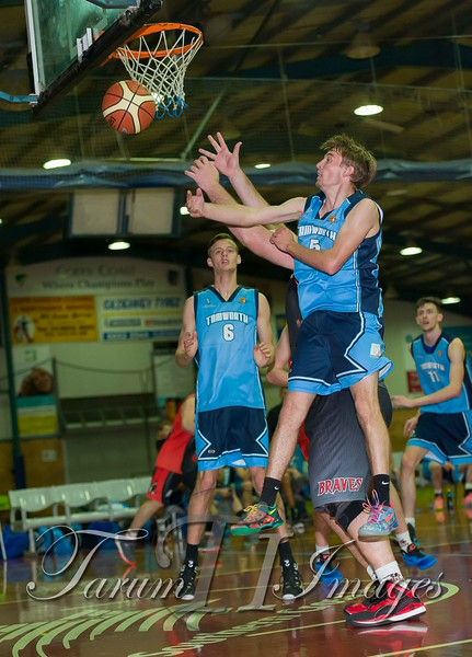 © Braves (70) v Tamworth Thunderbolts (75) 4 July 2015-7578