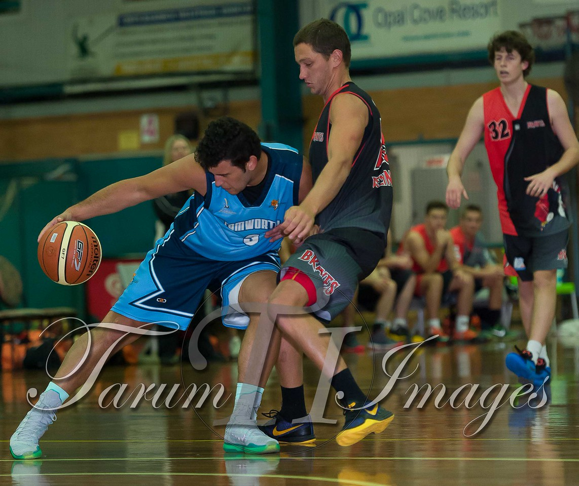 © Braves (70) v Tamworth Thunderbolts (75) 4 July 2015-7463