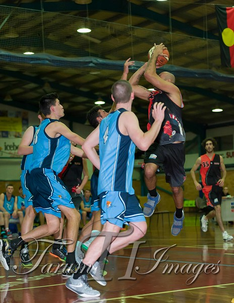 © Braves (70) v Tamworth Thunderbolts (75) 4 July 2015-7614