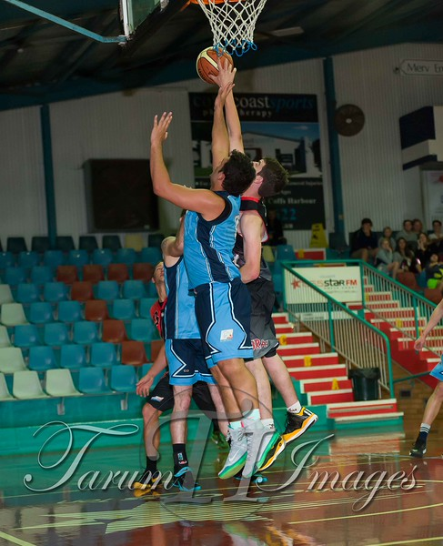 © Braves (70) v Tamworth Thunderbolts (75) 4 July 2015-7827