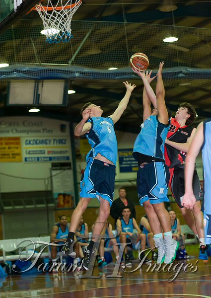 © Braves (70) v Tamworth Thunderbolts (75) 4 July 2015-7575