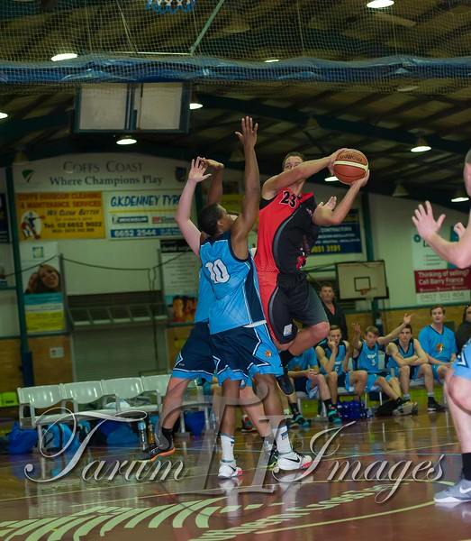 © Braves (70) v Tamworth Thunderbolts (75) 4 July 2015-7646