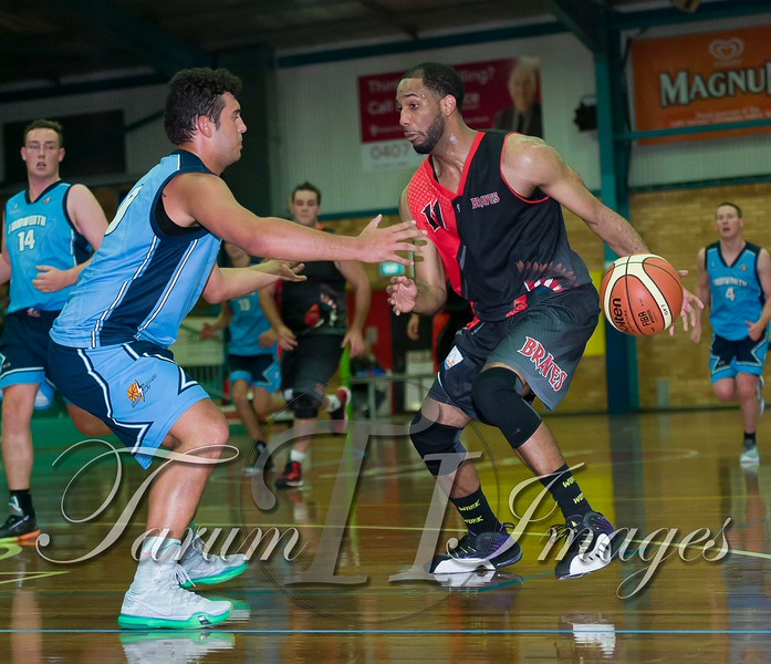 © Braves (70) v Tamworth Thunderbolts (75) 4 July 2015-7738