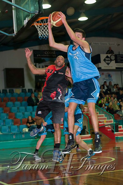 © Braves (70) v Tamworth Thunderbolts (75) 4 July 2015-7785