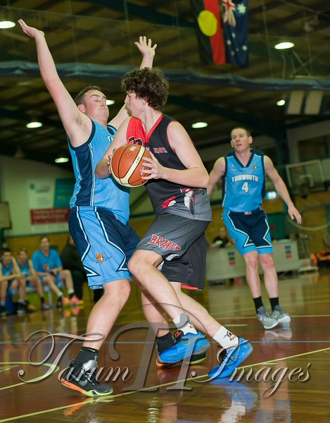 © Braves (70) v Tamworth Thunderbolts (75) 4 July 2015-7456