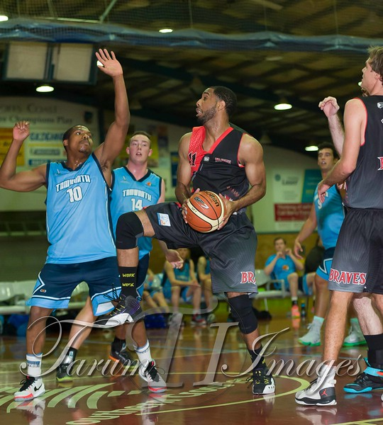 © Braves (70) v Tamworth Thunderbolts (75) 4 July 2015-7532