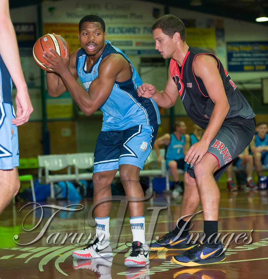 © Braves (70) v Tamworth Thunderbolts (75) 4 July 2015-7503