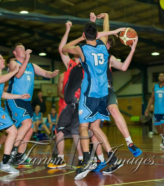 © Braves (70) v Tamworth Thunderbolts (75) 4 July 2015-7667