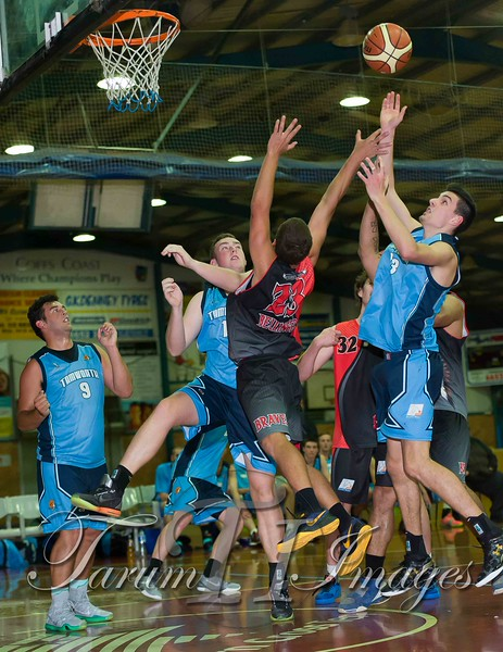 © Braves (70) v Tamworth Thunderbolts (75) 4 July 2015-7625