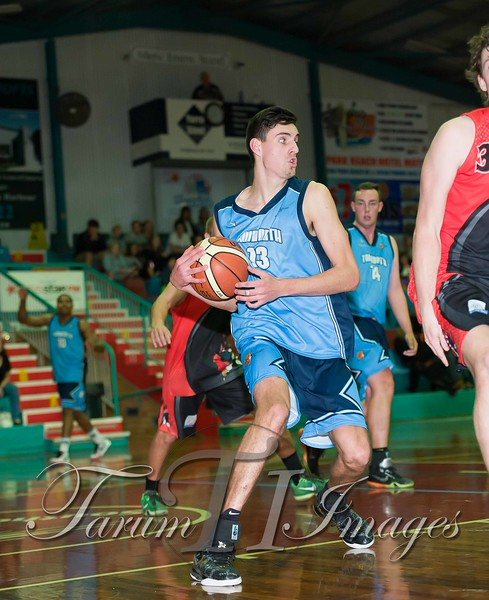 © Braves (70) v Tamworth Thunderbolts (75) 4 July 2015-7918