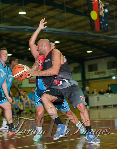 © Braves (70) v Tamworth Thunderbolts (75) 4 July 2015-7637