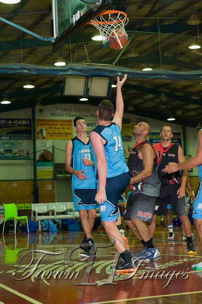 © Braves (70) v Tamworth Thunderbolts (75) 4 July 2015-7497