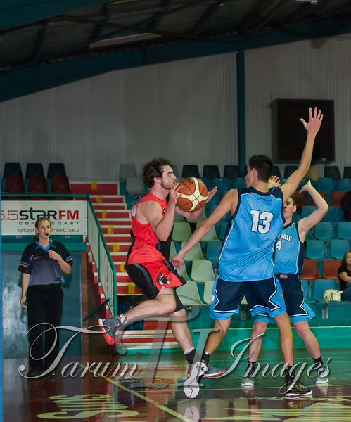 © Braves (70) v Tamworth Thunderbolts (75) 4 July 2015-7719