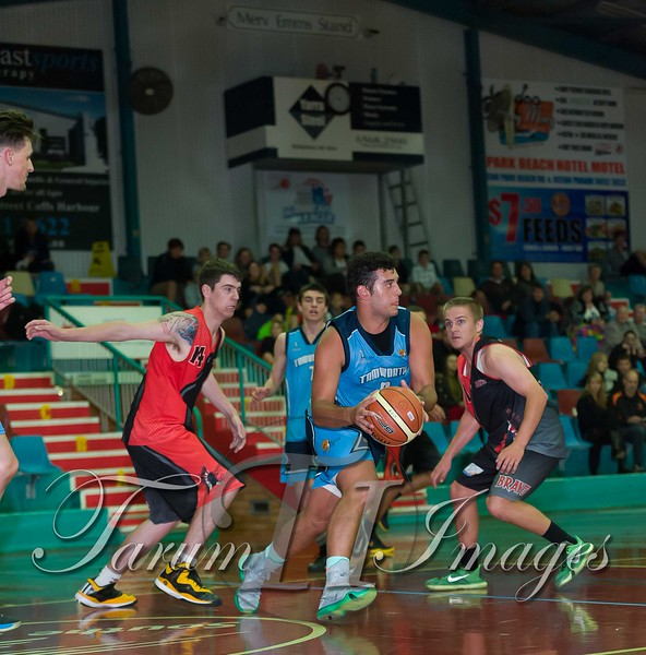 © Braves (70) v Tamworth Thunderbolts (75) 4 July 2015-7821