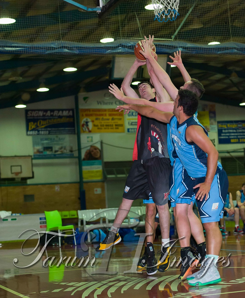 © Braves (70) v Tamworth Thunderbolts (75) 4 July 2015-7487