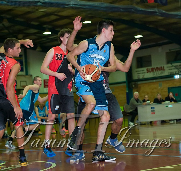 © Braves (70) v Tamworth Thunderbolts (75) 4 July 2015-7627