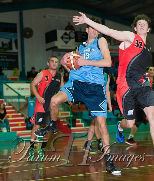 © Braves (70) v Tamworth Thunderbolts (75) 4 July 2015-7916
