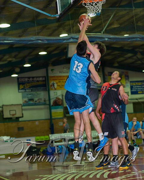 © Braves (70) v Tamworth Thunderbolts (75) 4 July 2015-7654