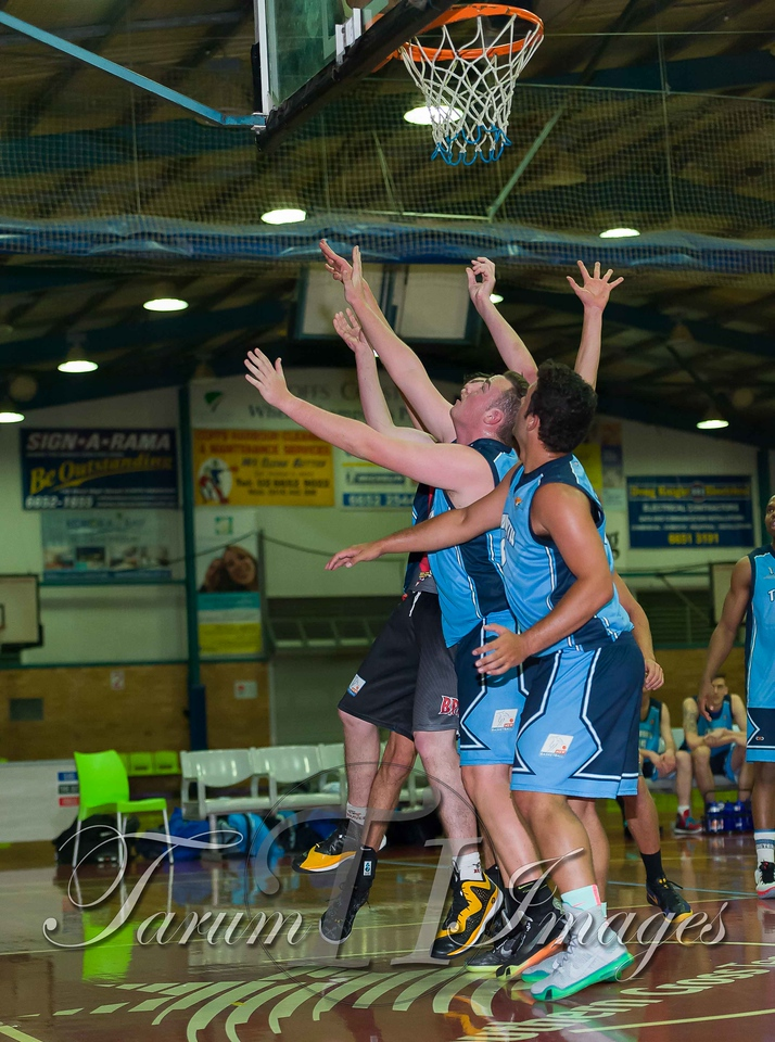 © Braves (70) v Tamworth Thunderbolts (75) 4 July 2015-7489