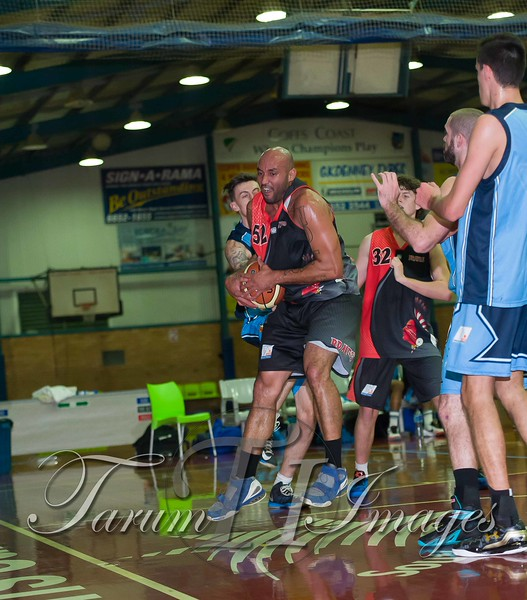 © Braves (70) v Tamworth Thunderbolts (75) 4 July 2015-7566