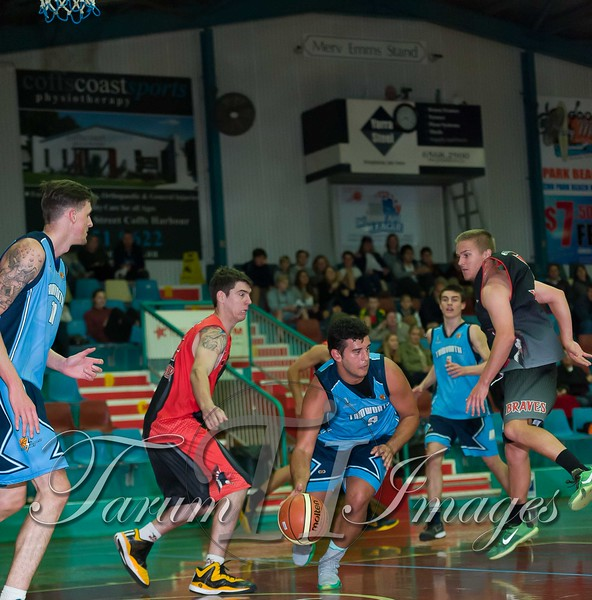 © Braves (70) v Tamworth Thunderbolts (75) 4 July 2015-7819
