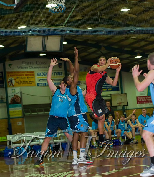 © Braves (70) v Tamworth Thunderbolts (75) 4 July 2015-7647