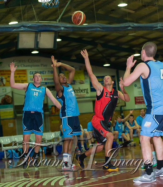 © Braves (70) v Tamworth Thunderbolts (75) 4 July 2015-7649