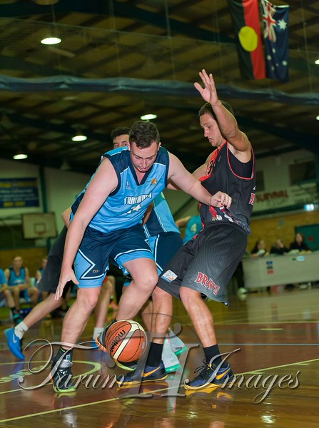 © Braves (70) v Tamworth Thunderbolts (75) 4 July 2015-7662