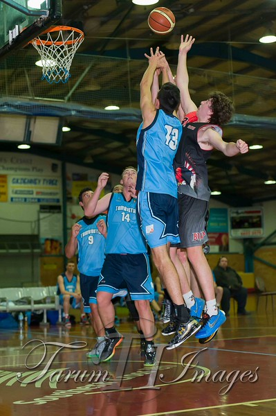 © Braves (70) v Tamworth Thunderbolts (75) 4 July 2015-7663